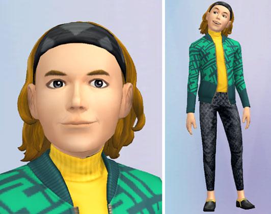 ミュージシャンファッション(The Sims シムズ ポケット)