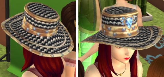 帽子(The Sims シムズポケット)
